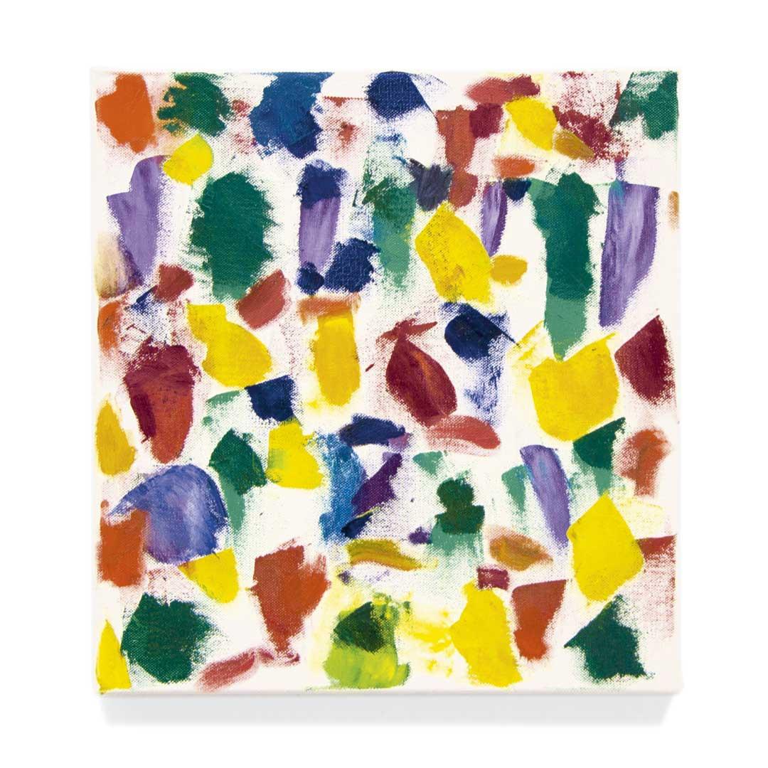 jerry zeniuk, untitled, 1999, oil/canvas, 34 x 32 cm