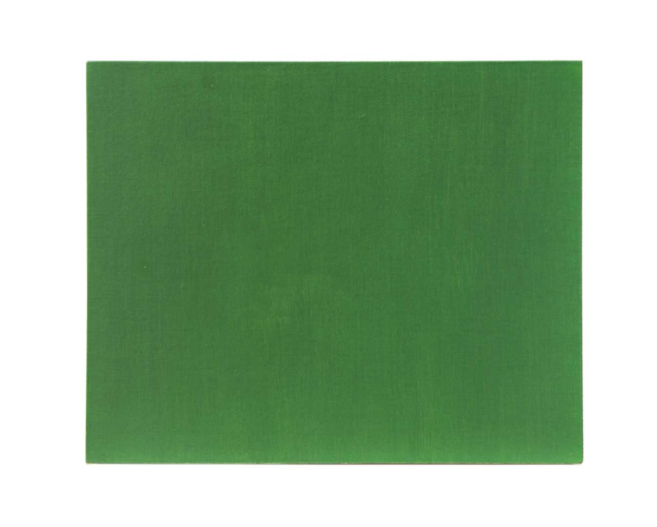 marcia hafif, double glaze painting olive green light green 2004 ny, oil/ linen, 51 x 41 cm