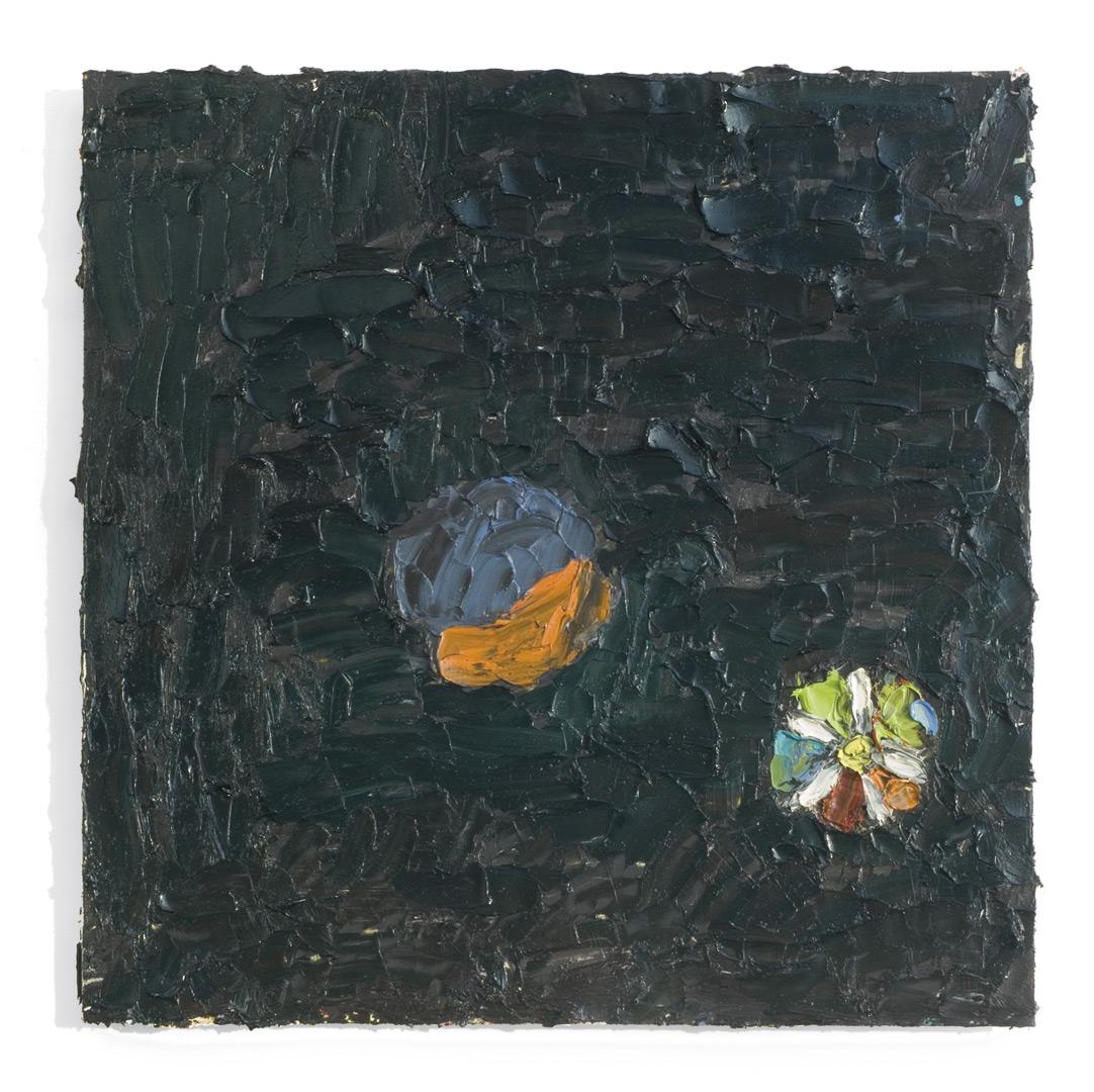 norbert prangenberg, bild, 2008, oil/wood, 43 x 42,5
