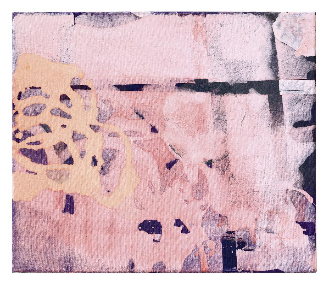 thomas bechinger, wpd 11, 2018, acryl/linen, 34 x 42 cm